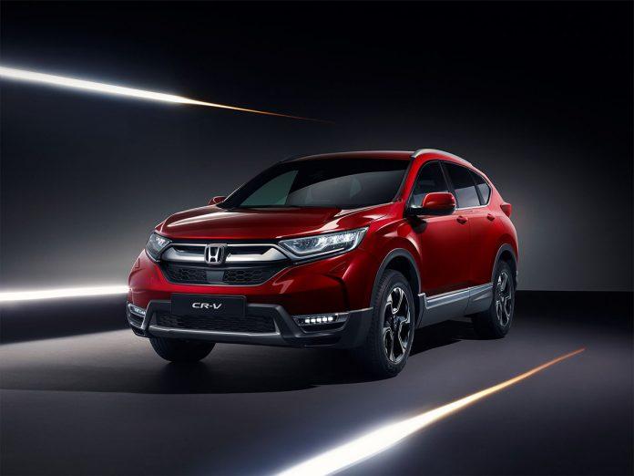 Honda zaprezentuje zupełnie nowy model CR-V na salonie samochodowym w Genewie